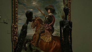Las figuras de Gicometti cobran vida en el Museo del Prado