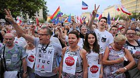 A luta dos polacos por mais direitos
