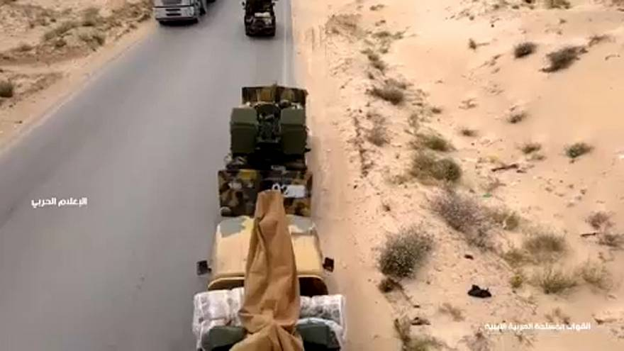 Der General marschiert auf Tripolis