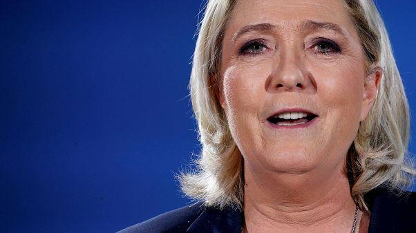 مارين لوبان، رئيسة التجمع الوطني في فرنسا