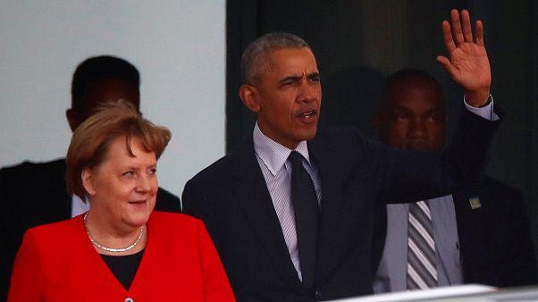Obama: Kurzbesuch bei Merkel
