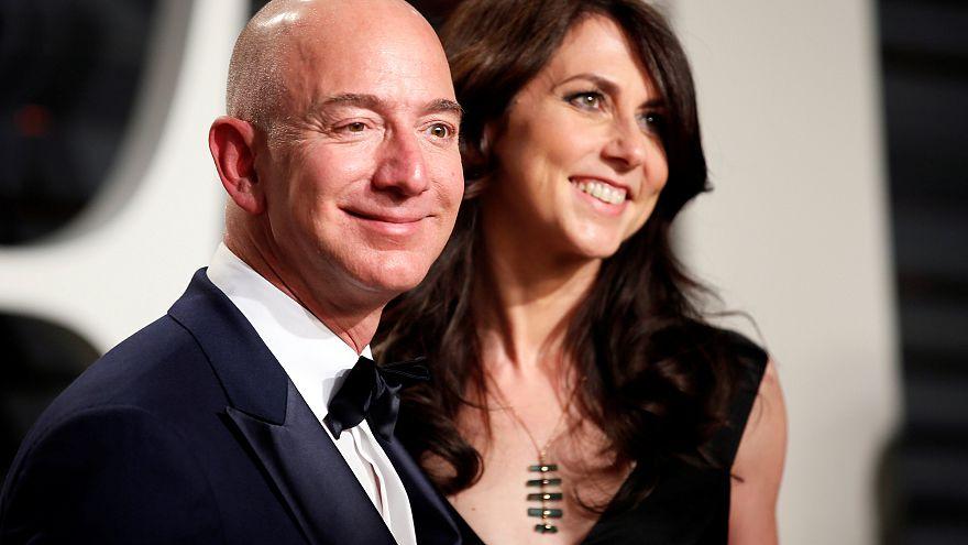 Amazon'un kurucusu Jeff Bezos eski eşi Mackenzie Bezos'a 36 milyar dolar nafaka ödeyecek