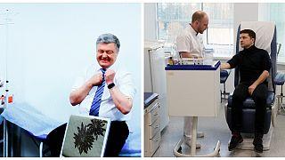 نامزدهای انتخابات اوکراین آزمایش اعتیاد به مواد مخدر و الکل دادند