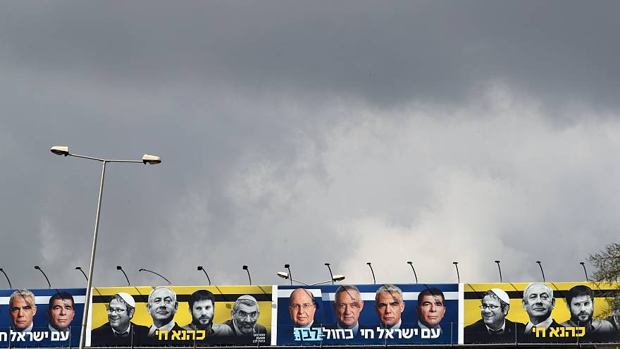 Letzte Umfragen vor der Wahl in Israel am 9. April