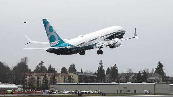 طائرة من نوع بوينغ 737