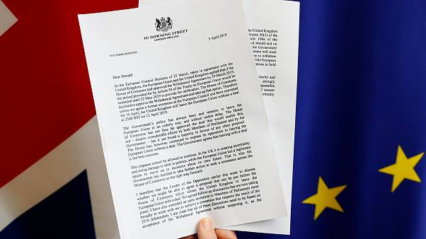 Theresa May pide una prórroga a Donald Tusk