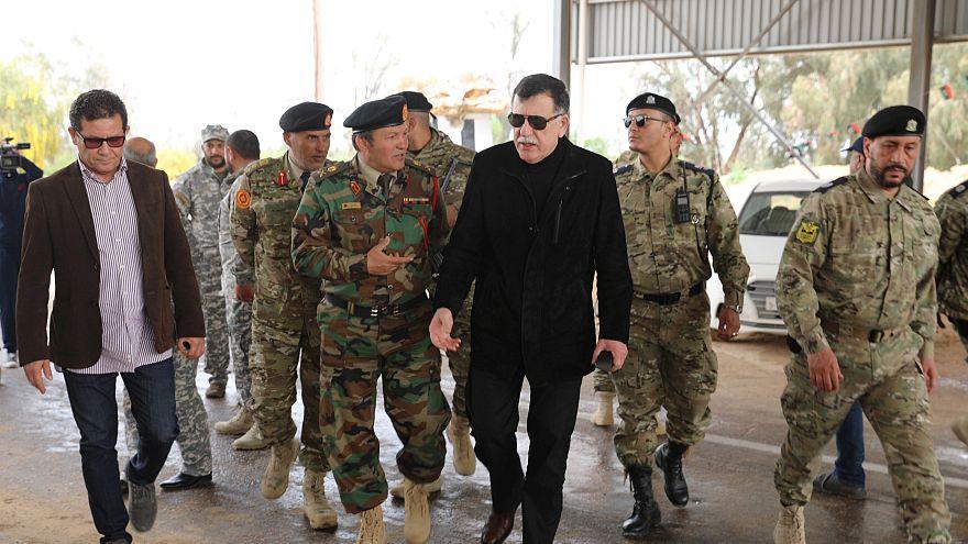 رئيس حكومة الوفاق الوطني في ليبيا فايز السراج