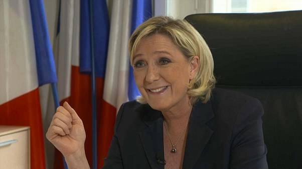 Aşırı sağcı Fransız lider Marine Le Pen euronews'e konuştu: Farklılıklar içinde birlik istiyoruz
