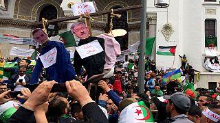 معترضان الجزایری در پی اخراج رئیس سازمان اطلاعات به خیابانها آمدند