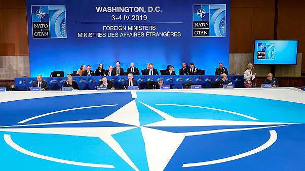 Plenary meeting of NATO Foreign Ministers' Session in Washington