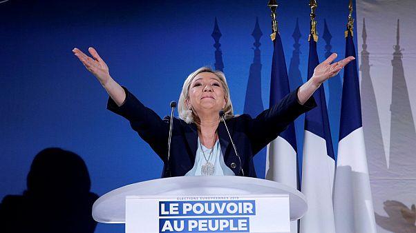 مارين لوبان - رئيسة حزب التجمع الوطني