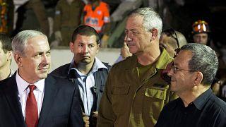 İsrail Başbakanı Netanyahu, eski Genelkurmay Başkanı Benny Gantz