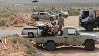 Ulusal Mutabakat hükümetine bağlı birlikler / Sirte