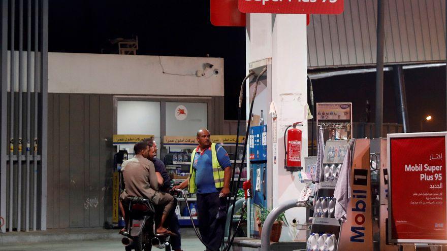 صورة أرشيفية لمحطة للتزود بالوقود في مصر