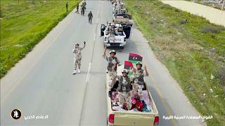 قوات الجيش الوطني الليبي التابعة لحفتر