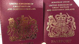 UK removes 'European Union' title from British passport