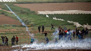 درگیری خونین در نوار غزه؛ ۸۳ فلسطینی مجروح شدند
