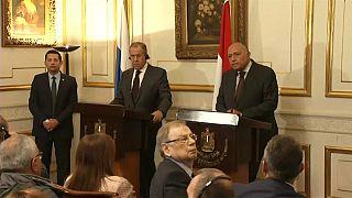 شاهد: روسيا ومصر تحذران من التدخل الأجنبي في ليبيا