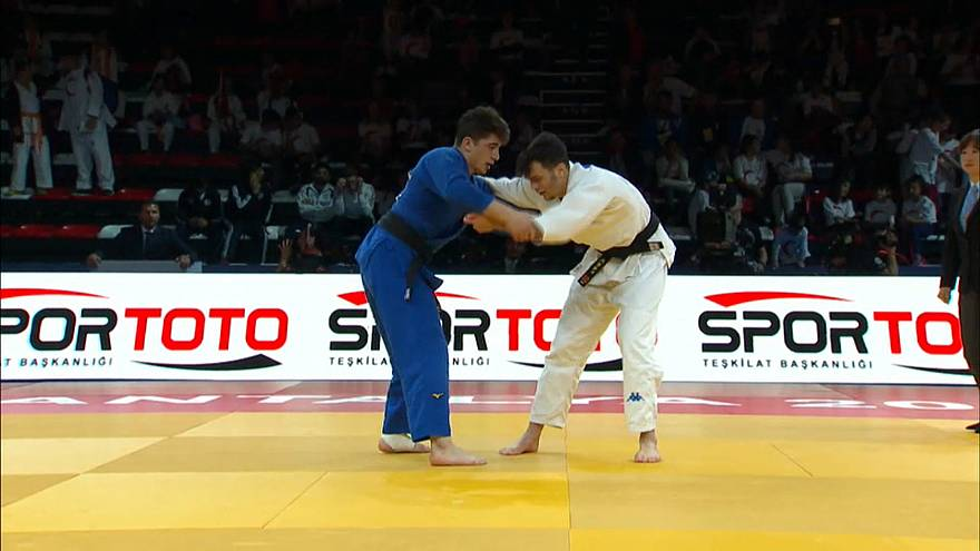 Explosive judo and Greek glory on Day 2 of 2019 Antalya Grand Prix