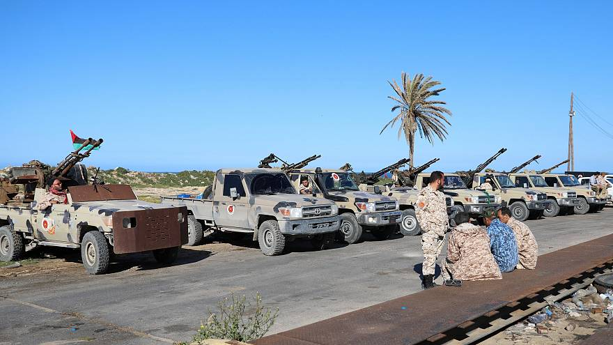 Kämpfe vor den Toren von Tripolis