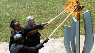 موسی فاکی محمد، پل و ژانت کاگامه و ژان-کلود یونکر آتش امید را روشن کردند
