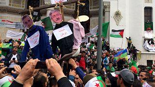 صورة من الاحتجاجات الجزائرية