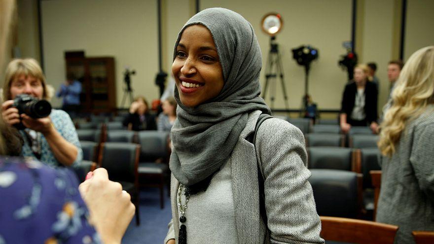 النائبة الأمريكية المسلمة بالكونغرس إلهان عمر