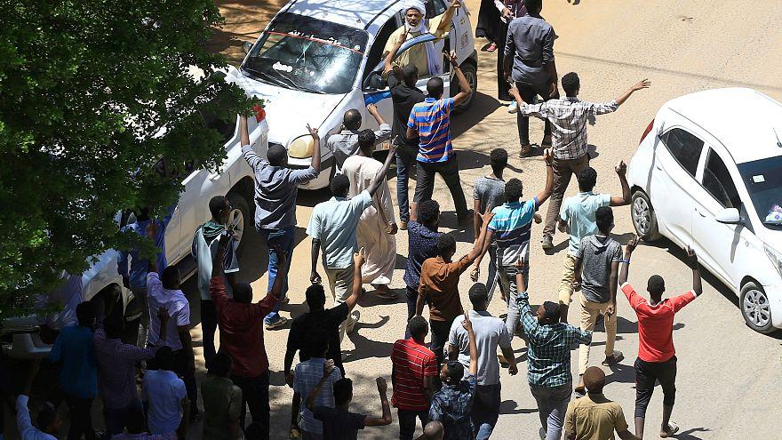 جانب من المظاهرات السودانية