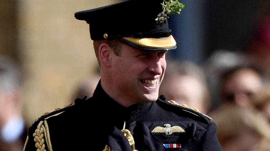 Britain's Prince William works undercover as a spy