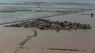 مناطق سیل زده استان خوزستان ایران