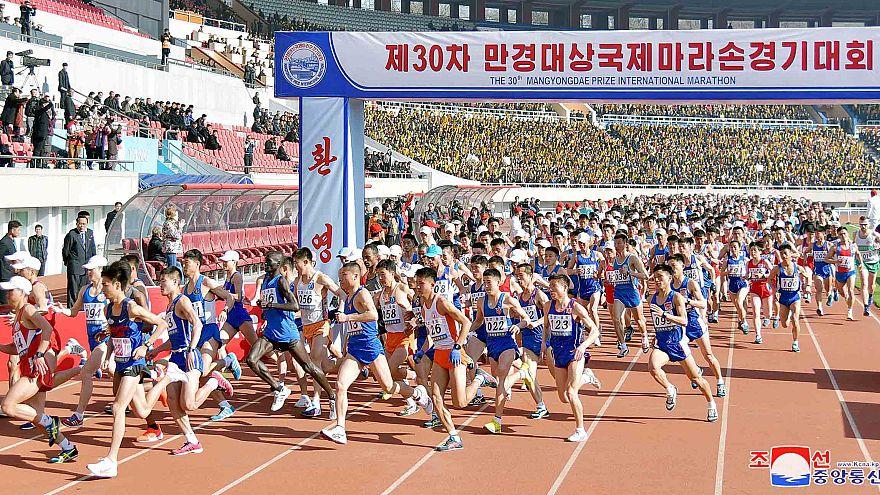 Μαραθώνιος στη Βόρεια Κορέα