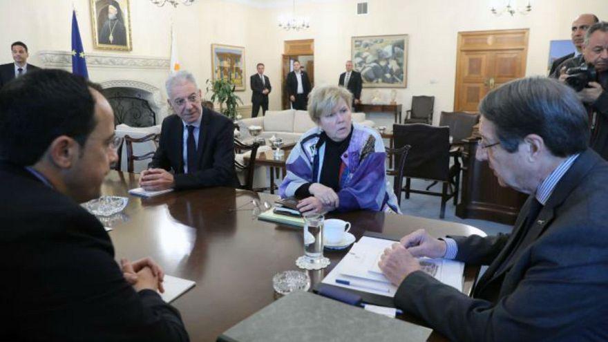 Κύπρος: Συνάντηση Αναστασιάδη - Λουτ