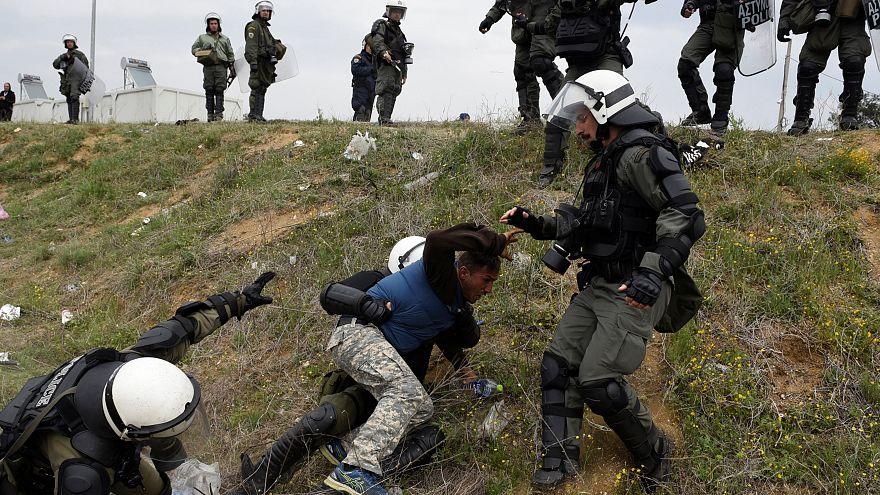 Migrantes abandonam Diavata