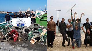 Περιβαλλοντικές δράσεις σε Δονούσα και Πάρο (vid)