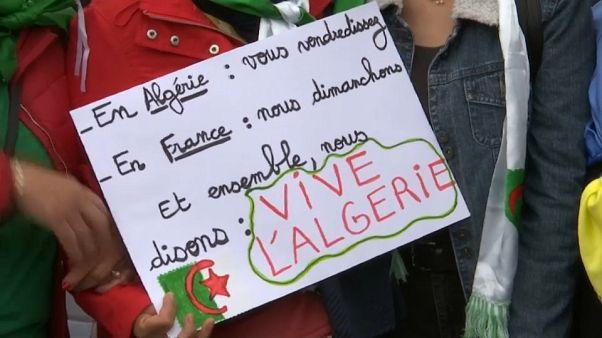 """Algérie : dans les rues de Paris """"contre le système"""""""