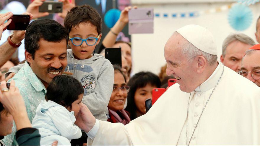 Sumo Pontífice apelou a que não se tenha medo dos migrantes