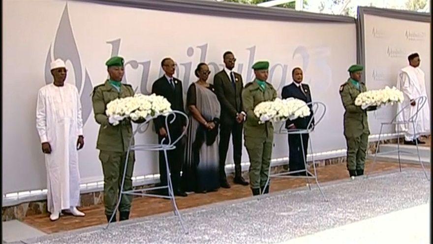 Ruanda in Trauer vereint