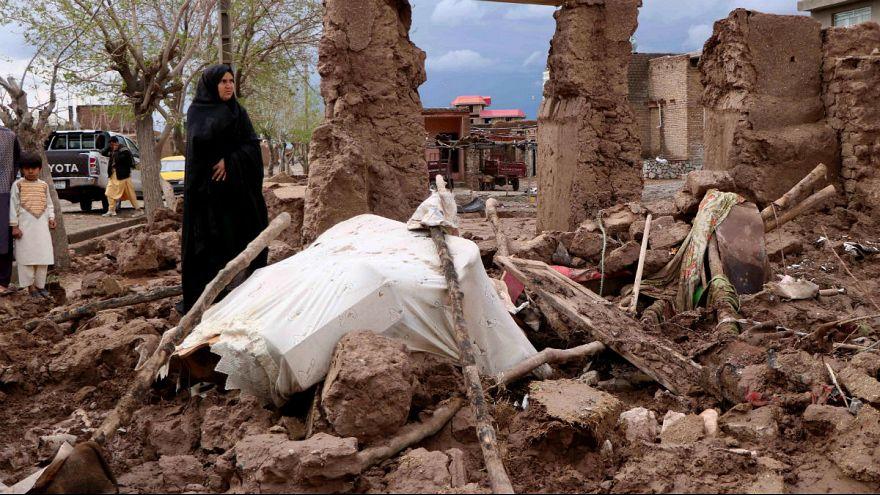 افزایش تلفات سیل در افغانستان: ۱۴۷ کشته و ۲۷۸ مصدوم
