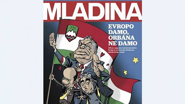 Diplomáciai erőfitogtatás egy karikatúra miatt