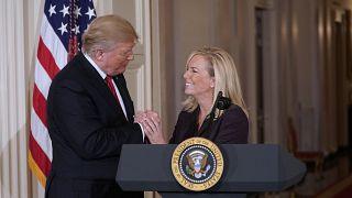 ABD İç Güvenlik Bakanı Kristjen Nielsen istifa etti