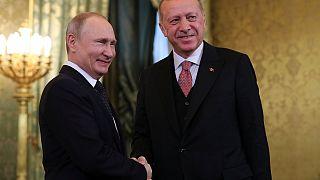 Путин обещает Эрдогану больше оружия