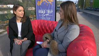 Anelise Borges brings Road Trip Europe to Euronews' front door