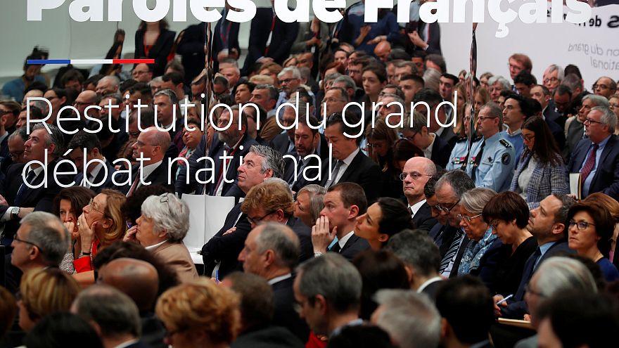 """Que balanço do """"Grande debate nacional"""" em França?"""