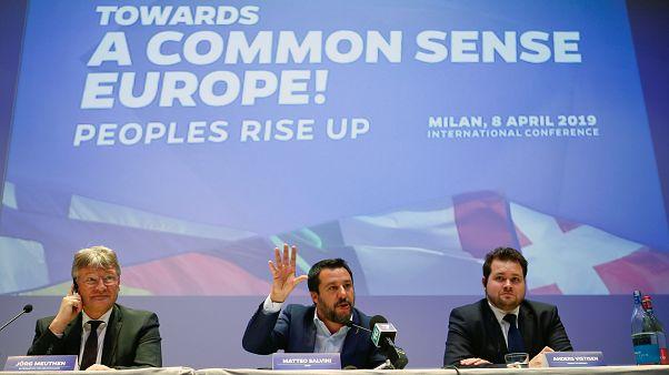 Επιχείρηση συσπείρωσης της ευρωπαϊκής ακροδεξιάς από Σαλβίνι