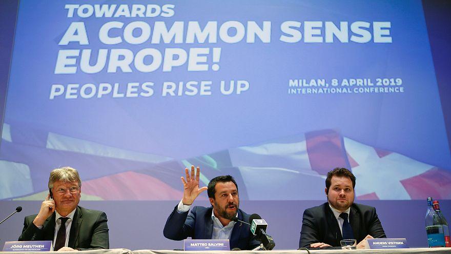 """Für """"ein wehrhaftes Europa"""": Rechter Schulterschluss von AfD und Lega"""