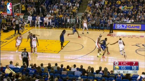 NBA: a Golden State Warriors lesz a nyugati első kiemelt