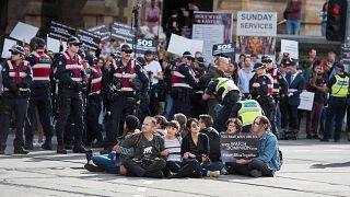 """""""Zöld bűnözőket"""" vett őrizetbe az ausztrál rendőrség"""