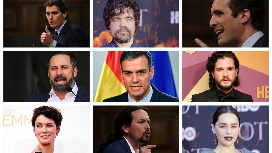 Quién es quién en el 'Juego de Tronos' a las elecciones españolas