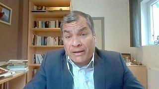 """Rafael Correa sobre Julian Assange: """"Si pudieran lo sacarían hoy mismo"""""""