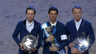 Стив Герда выиграл финал Кубка мира по конкуру